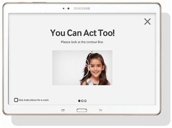 삼성전자, 자폐 겪는 아이 위한 '룩앳미' 앱 출시 - 아시아경제