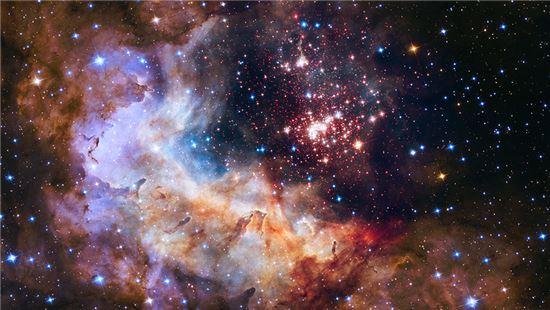 허블망원경으로 본 우주. 사진 제공 = NASA