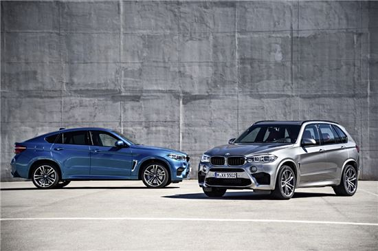 BMW 코리아, 뉴 X5 M과 뉴 X6 M 공식 출시