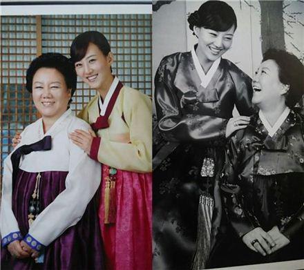 장윤정과 어머니 육흥복씨. 사진=육흥복 씨 제공