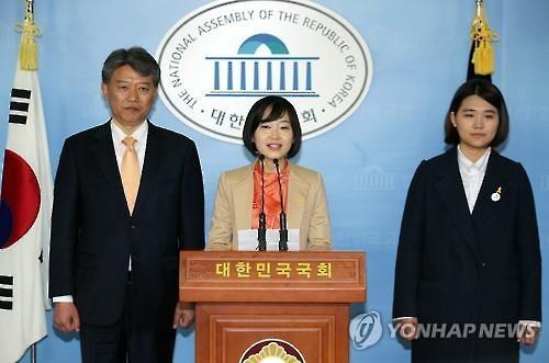 (왼쪽부터) 김선동, 김재연, 손솔 / 사진= 연합뉴스