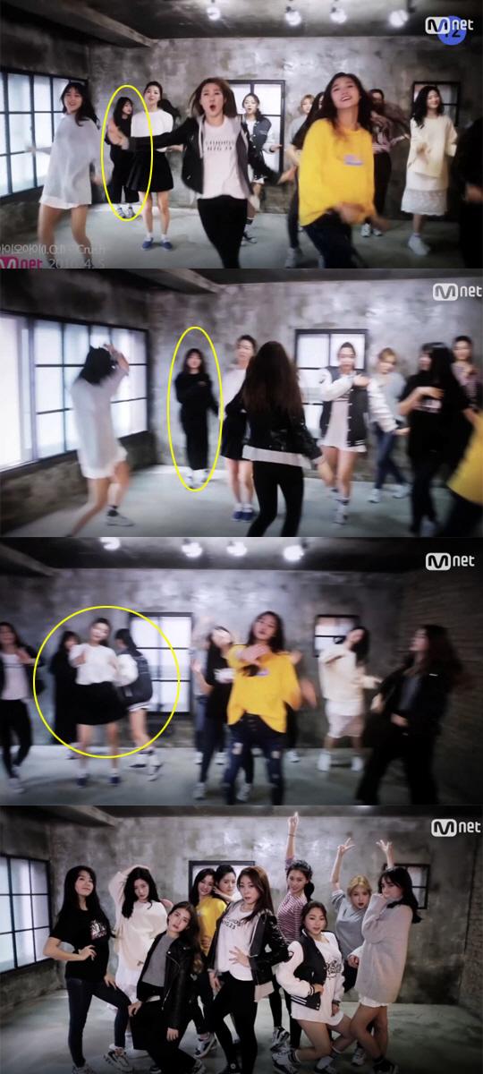 프로듀스101 최유정 실종 논란. 사진=Mnet 제공 '크러쉬' 티저 화면 캡처.