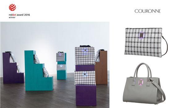 쿠론 스마트 백 '글림',  레드닷 디자인 어워드'에서 제품 디자인 부문 수상  - 아시아경제