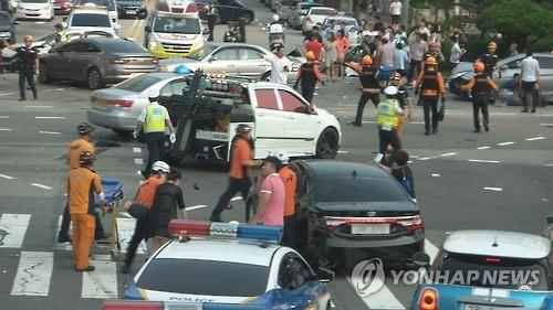 교통사고. 사진은 기사와 관련이 없음. 사진=연합뉴스