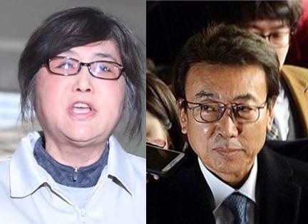 최순실(좌) 정윤회(우)/사진= 아시아경제