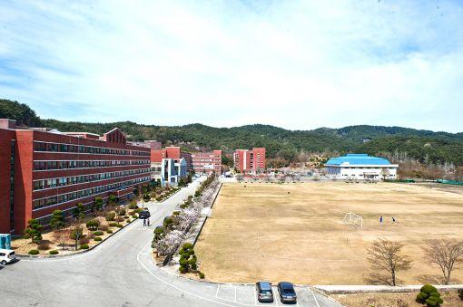 전북 남원에 위치한 서남대학교 전경