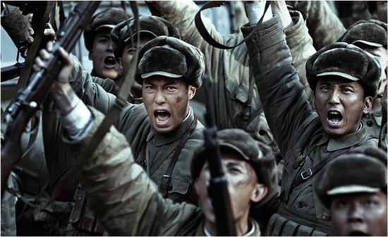 중국영화 <我的戰爭>의 한 장면