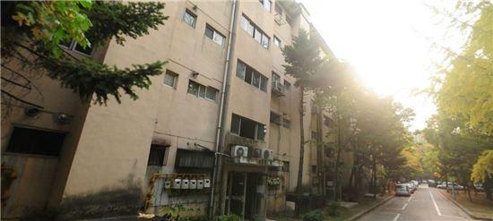 철거 이전 개포시영아파트 전경 /