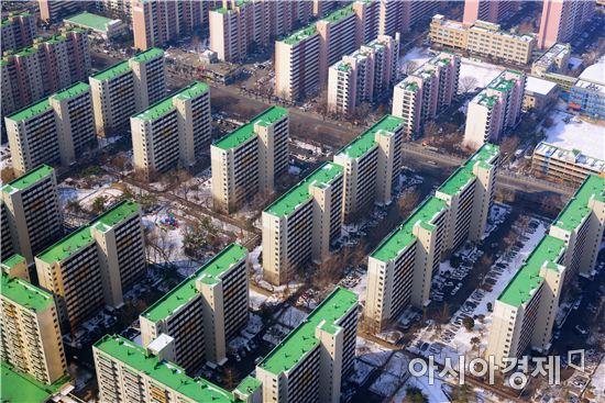 서울 강남의 한 아파트 단지 전경