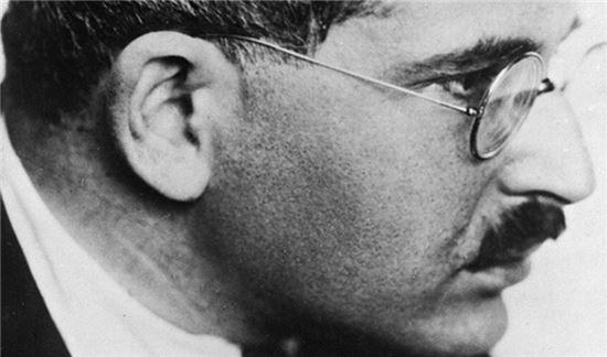 독일 철학자 발터 벤야민(1892-1940)