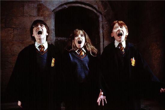 '해리포터' 속 주문 중 라틴어를 사용한 경우가 많다. 사진=영화 '해리포터와 마법사의 돌' 스틸컷