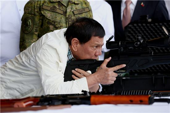두테르테 필리핀 대통령(사진=EPA연합뉴스)