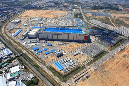삼성전자 평택캠퍼스 반도체 생산라인(평택 1라인) 외경<사진=삼성전자>