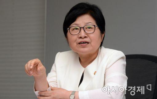 ▲정현백 여성가족부 장관