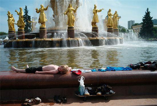 2010년 여름, 러시아 전역에 폭염이 발생해 5만6000여명이 사망했다(사진=위키피디아)