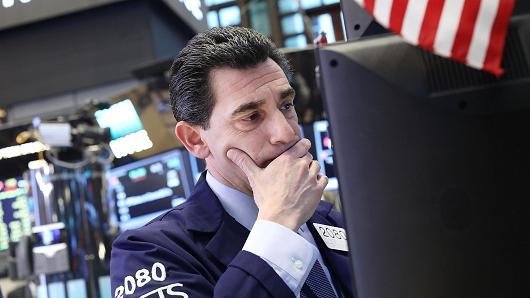 (참고사진- 출처: Getty Images) 뉴욕증권거래소의 트레이더