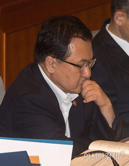 유영민 과학기술정보통신부 장관.