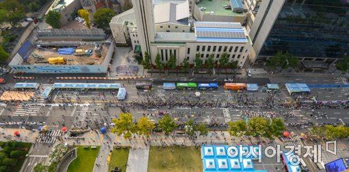 [포토]'서울거리예술축제 2017 거리퍼레이드'