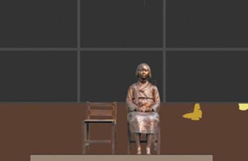 뉴욕 한인이민사박물관에 세워지는 '평화의 소녀상' 사진=뉴욕한인회 제공