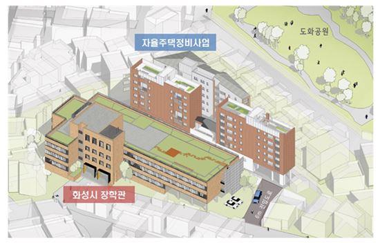▲ 동작구 상도동에 들어서는 1호 서울형 자율주택 정비사업 조감도.