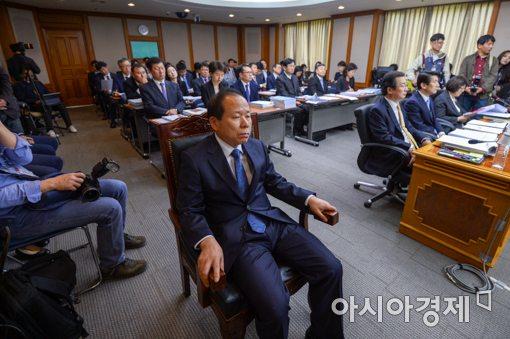 [포토]국정감사 참석한 김이수 권한대행