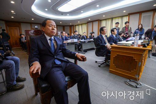 [포토]국정감사 참석한 김이수 헌법재판소장 권한대행