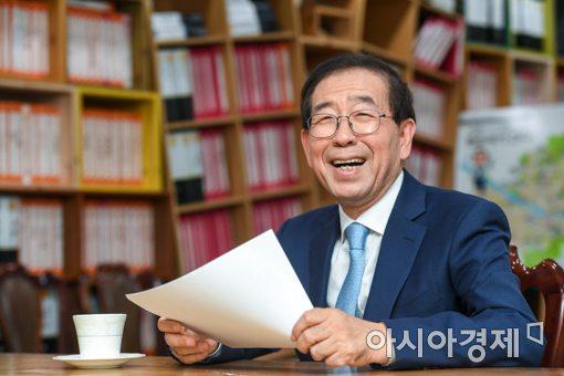 """[아시아초대석]박원순 """"서울을 '태양의도시'로…탈원전 가속화"""""""