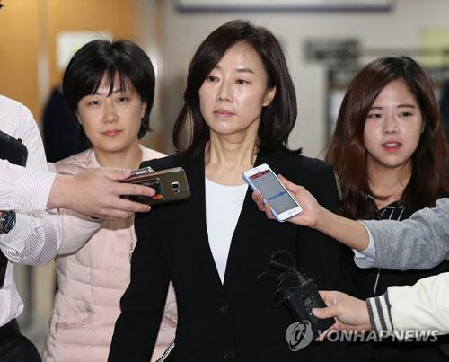 조윤선 전 청와대 정무수석(사진=연합뉴스)