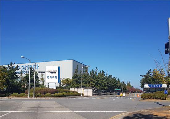 한국GM 군산공장 정문 전경(아시아경제)
