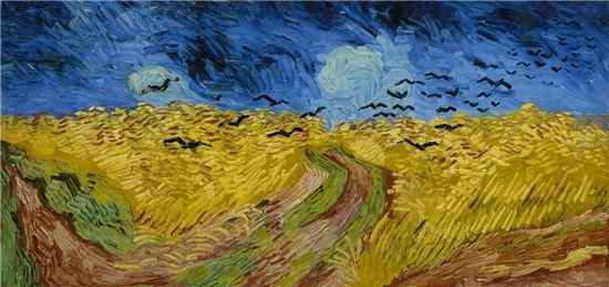 빈센트 반 고흐의 '까마귀가 있는 밀밭'