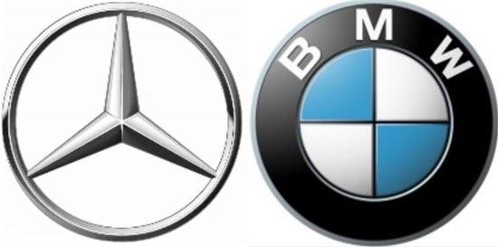 메르세데스-벤츠, BMW 엠블럼