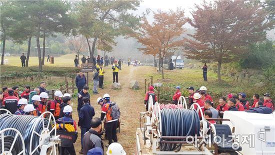 보성군, '산불지상진화 경연대회'장려상 수상