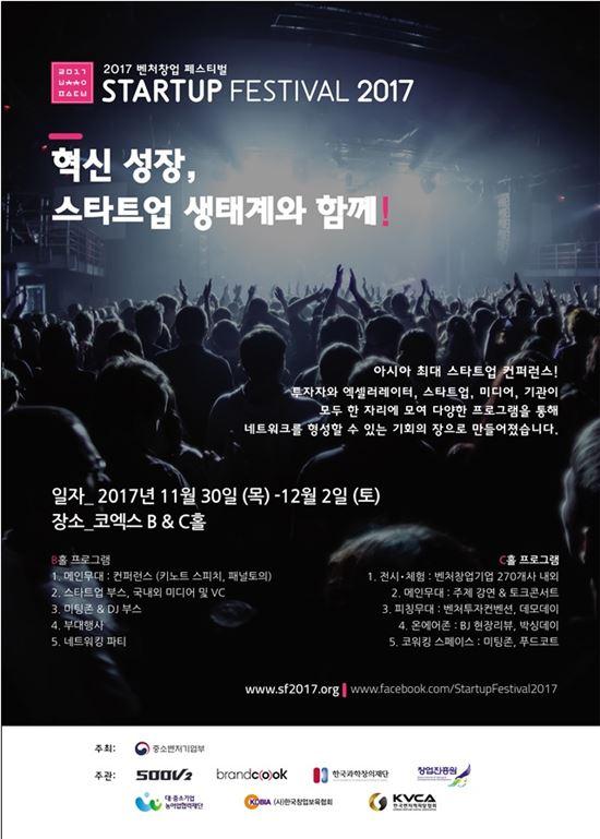 스타트업 135개 투자상담…'벤처창업 페스티벌'