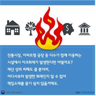 [카드뉴스]전기화재 발화지점, 블록체인이 밝혀낸다