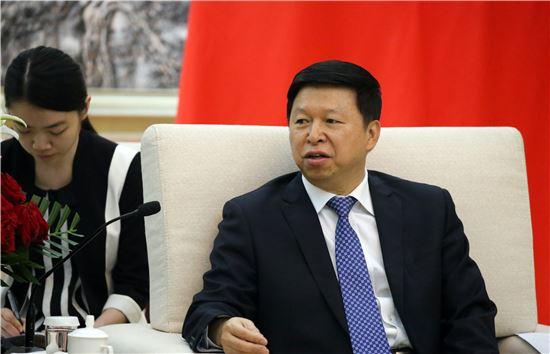 쑹타오(宋濤) 중국 공산당 대외연락부 부장. [사진=베이징 공동취재단]