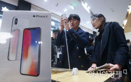 LG디스플레이, 아이폰X에 OLED 공급한다…애플 공급계약 완료