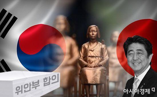 """아베 """"한국측 위안부 새방침 절대 수용 못해""""(종합)"""