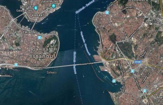 유라시아 해저터널 위치