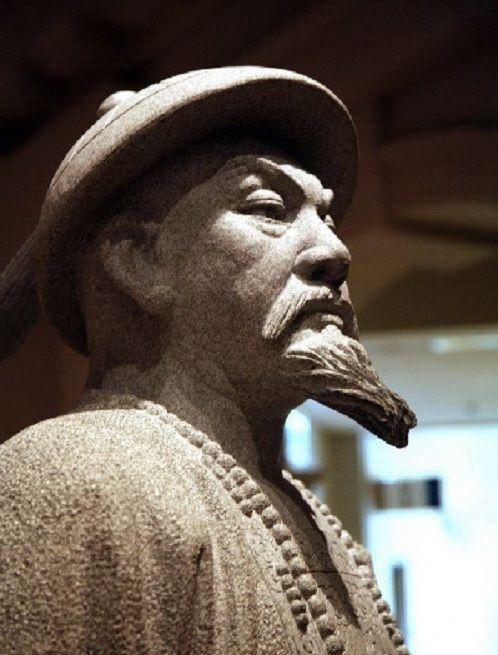 중국 홍콩역사박물관에 전시된 임칙서 동상.(사진=두산백과)