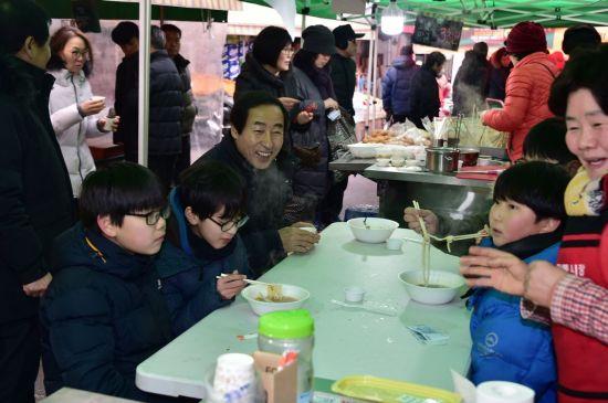 서대문구 포방터시장  '신년메뉴 잔치대작전' 인기 만점