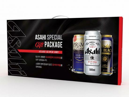 롯데, 15일부터 '아사히 스페셜 기프트 패키지' 한정 판매