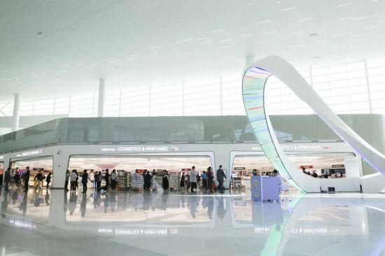 신라면세점 인천국제공항 터미널2 전경
