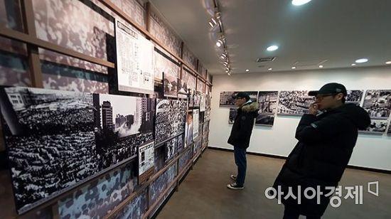[포토]  '1987'의 도화선 박종철 열사 31주기 추모 열풍