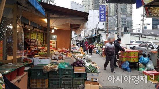 서울 마포구 공덕시장 모습(사진=박미주 기자)
