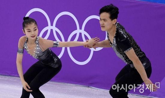 [포토] 렴대옥-김주식, '설레는 올림픽 무대'