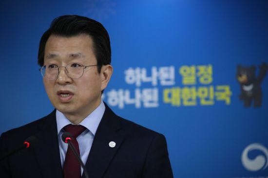백태현 통일부 대변인. [이미지출처=연합뉴스]