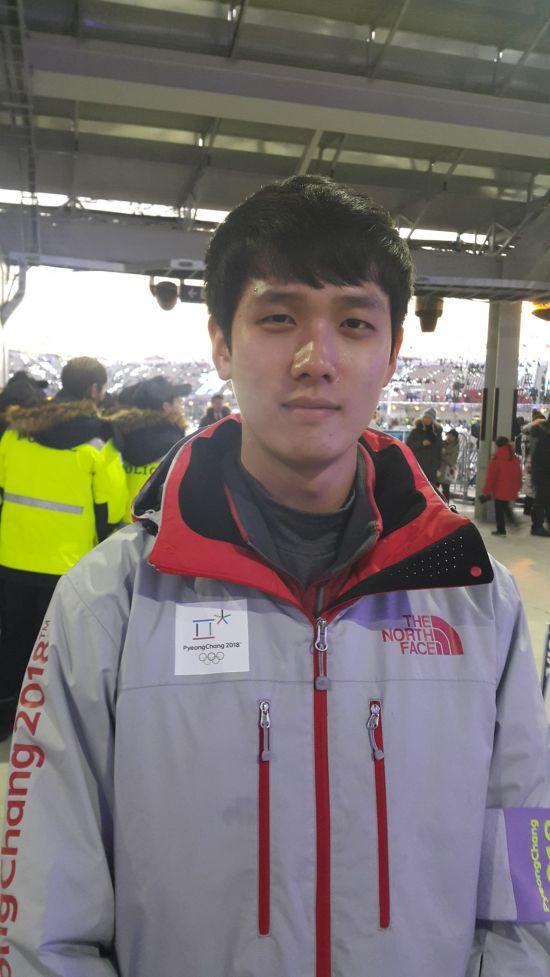 자원봉사자 곽동혁씨