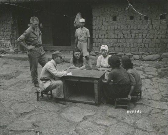 ▲일본군 위안부의 모습 (사진=서울시·서울대 인권센터)