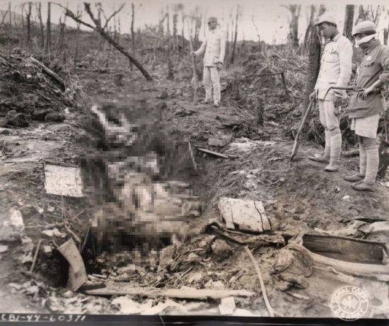 ▲일본군이 위안부를 학살한 모습 (사진=서울시·서울대 인권센터)