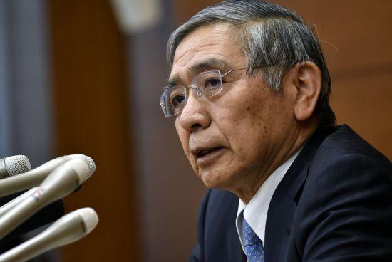 구로다 하루히코 일본은행 총재 (사진=연합뉴스)